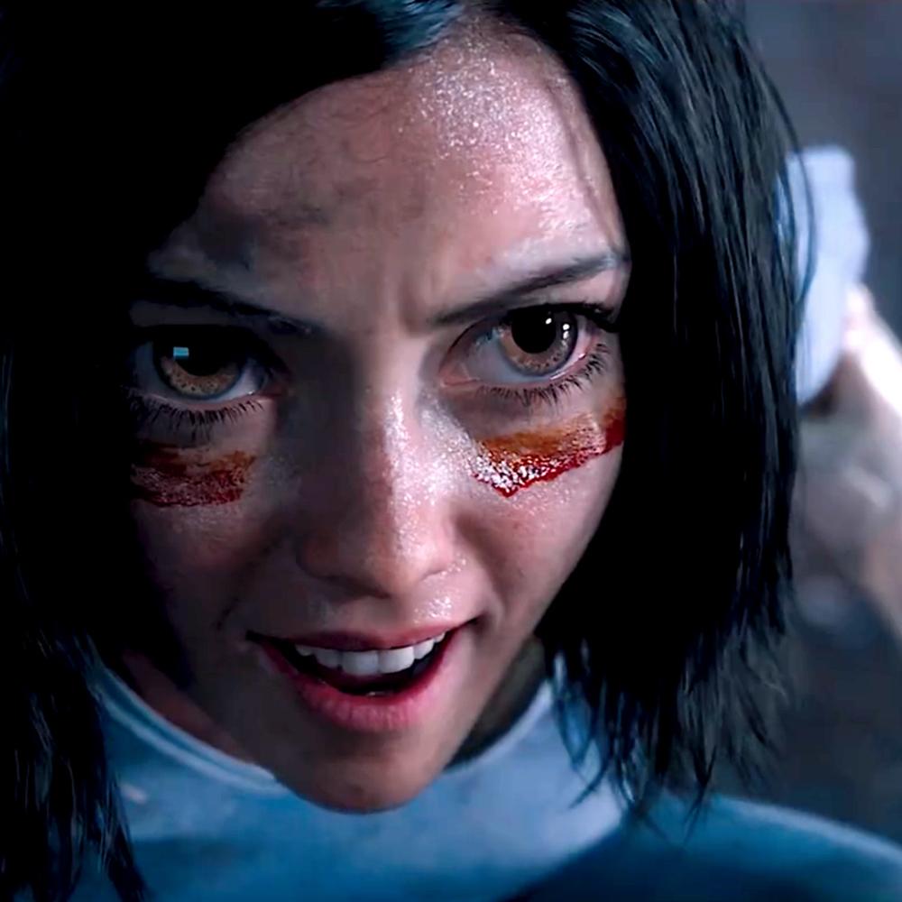 Alita Costume - Alita: Battle Angel Cosplay - Alita Face Paint