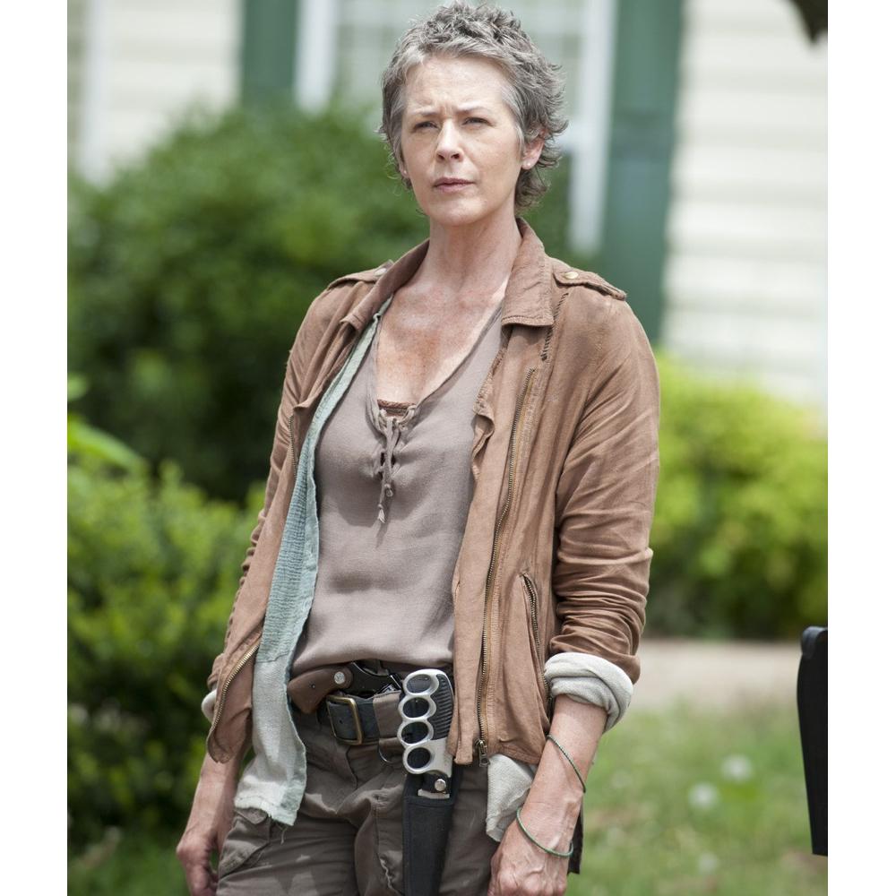 Carol Peletier Costume - The Walking Dead Cosplay - Carol Peletier Scoop Neck Top