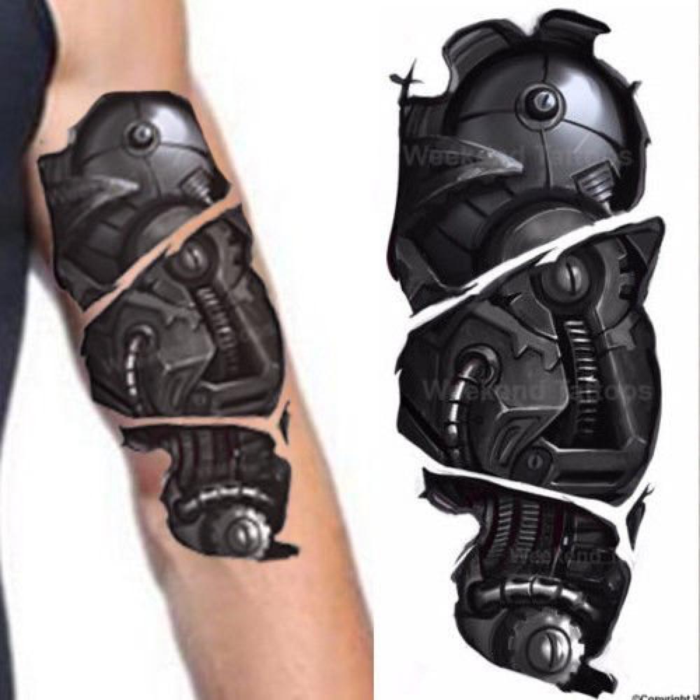 Alita Costume - Alita: Battle Angel Cosplay - Alita Face Robot Arms