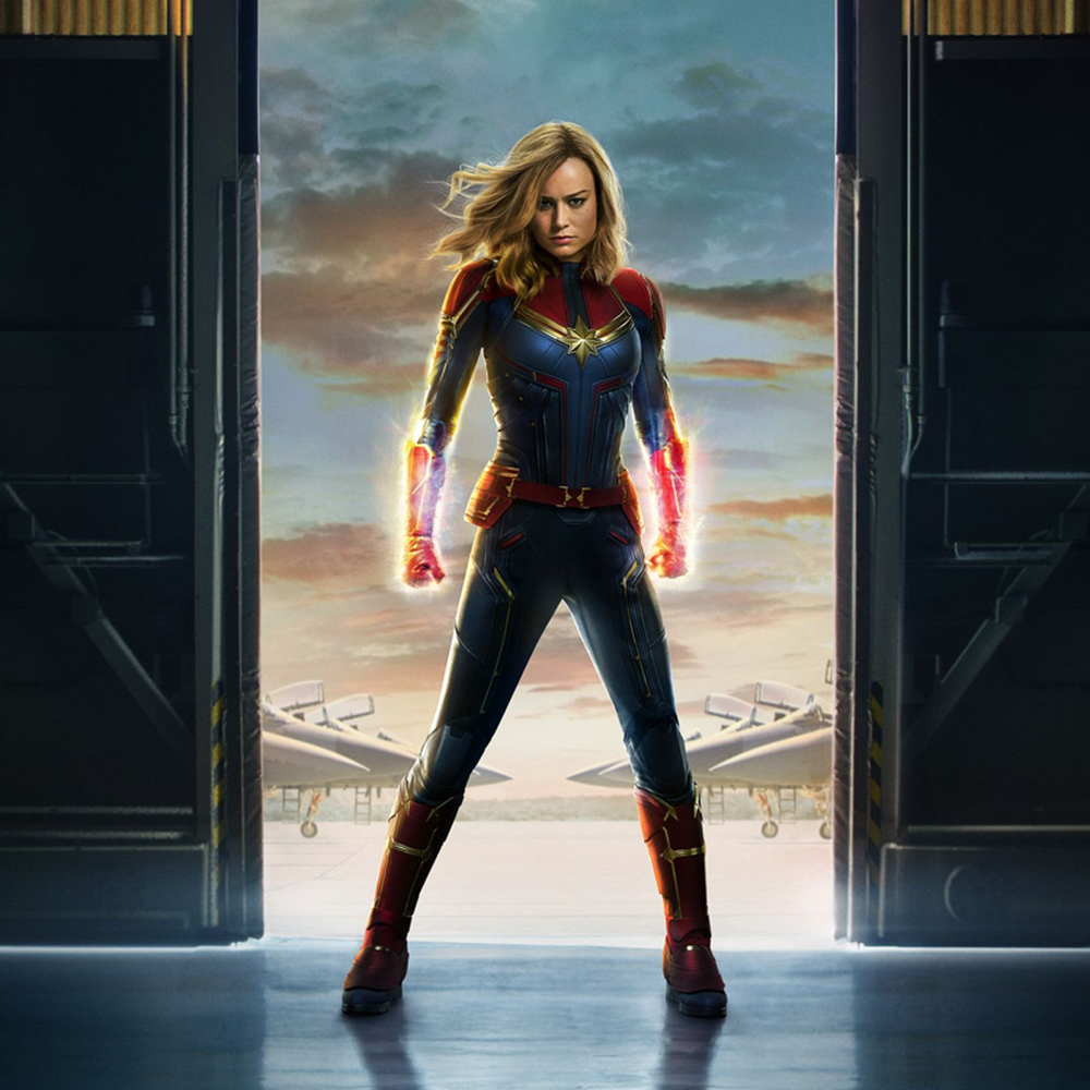 Captain Marvel Costume - Captain Marvel Cosplay - Captain Marvel Boots