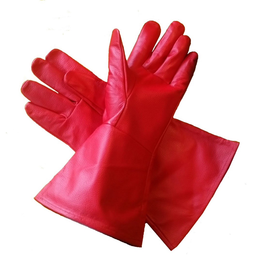 Captain Marvel Costume - Captain Marvel Cosplay - Captain Marvel Gloves