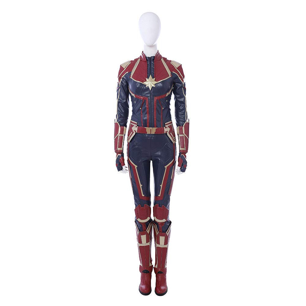 Captain Marvel Costume - Captain Marvel Cosplay - Captain Marvel Body Suit