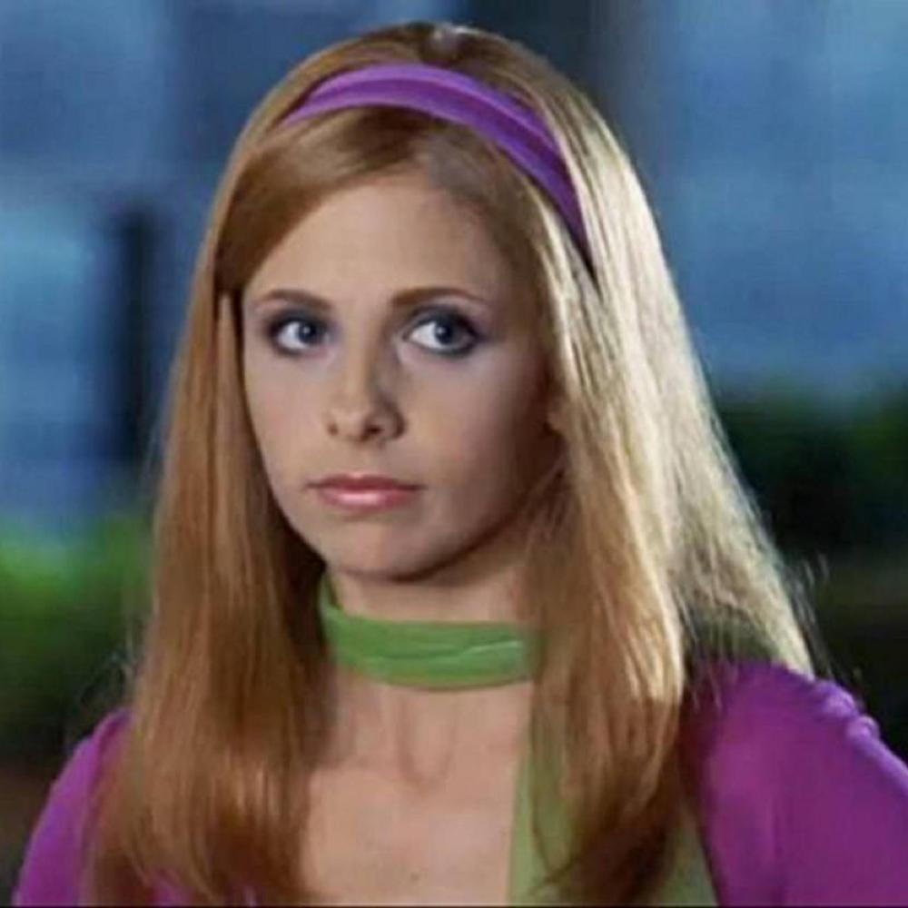 Daphne Costume - Scooby Doo Cosplay - Daphne Blake Headband