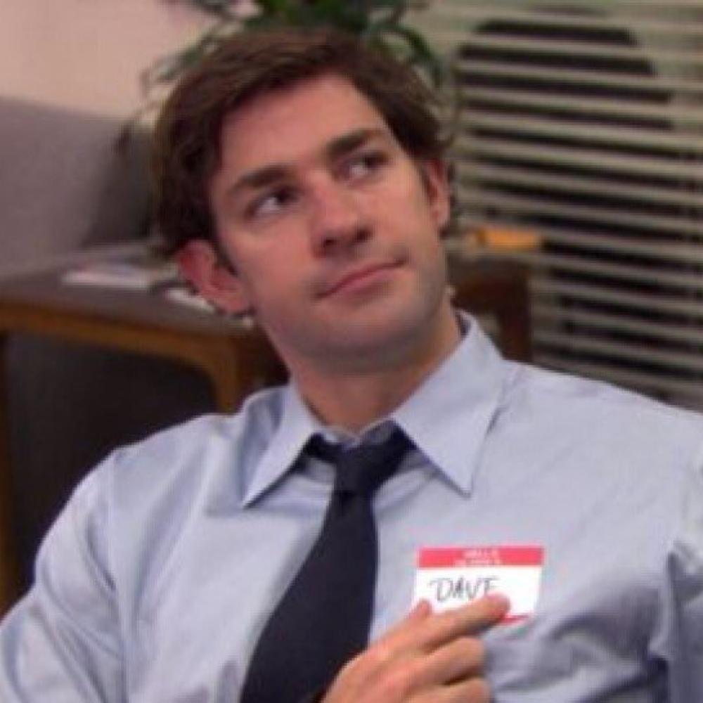 Jim Halpert Costume - The Office - Jim Halpert ID Badge