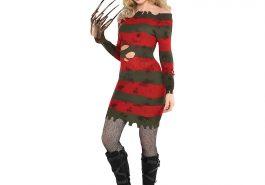 Sexy Freddy Krueger Costume for Women - Sexy Freddy Krueger Cosplay