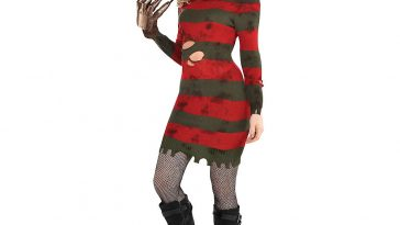 Sexy Freddy Krueger Costume for Women - Sexy Freddy Krueger Cosplay