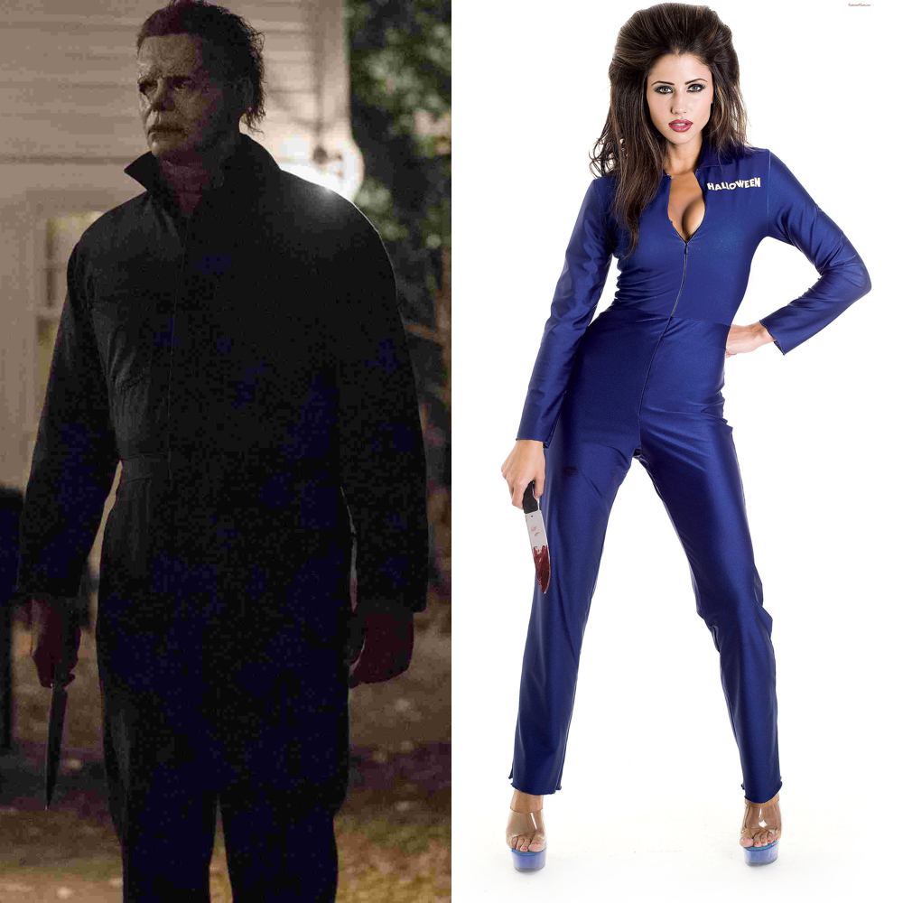 Sexy Michael Myers Costume   Halloween Costume   Sexy Michael Myers  Boilersuit