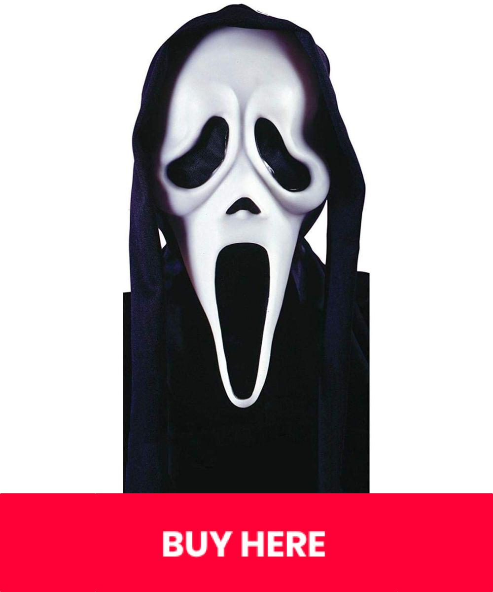 Sexy Scream Costume - Sexy Ghostface Costume for Women - Sexy Scream Mask