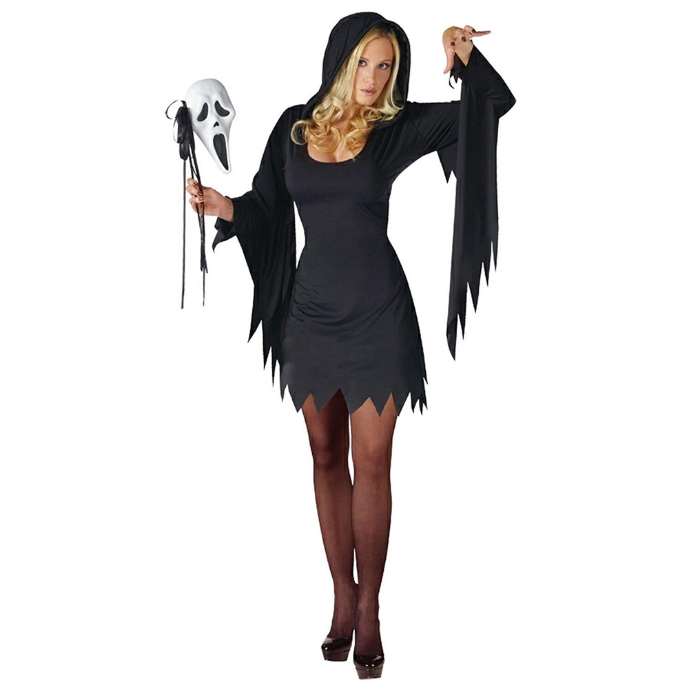 Sexy Scream Costume - Sexy Ghostface Costume for Women - Sexy Scream Robe