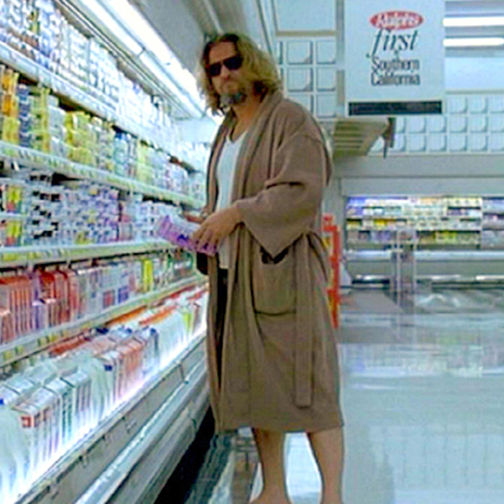 The Dude Costume - The Big Lebowski - Jeffery Lebowski Costume - The Dude Bathrobe