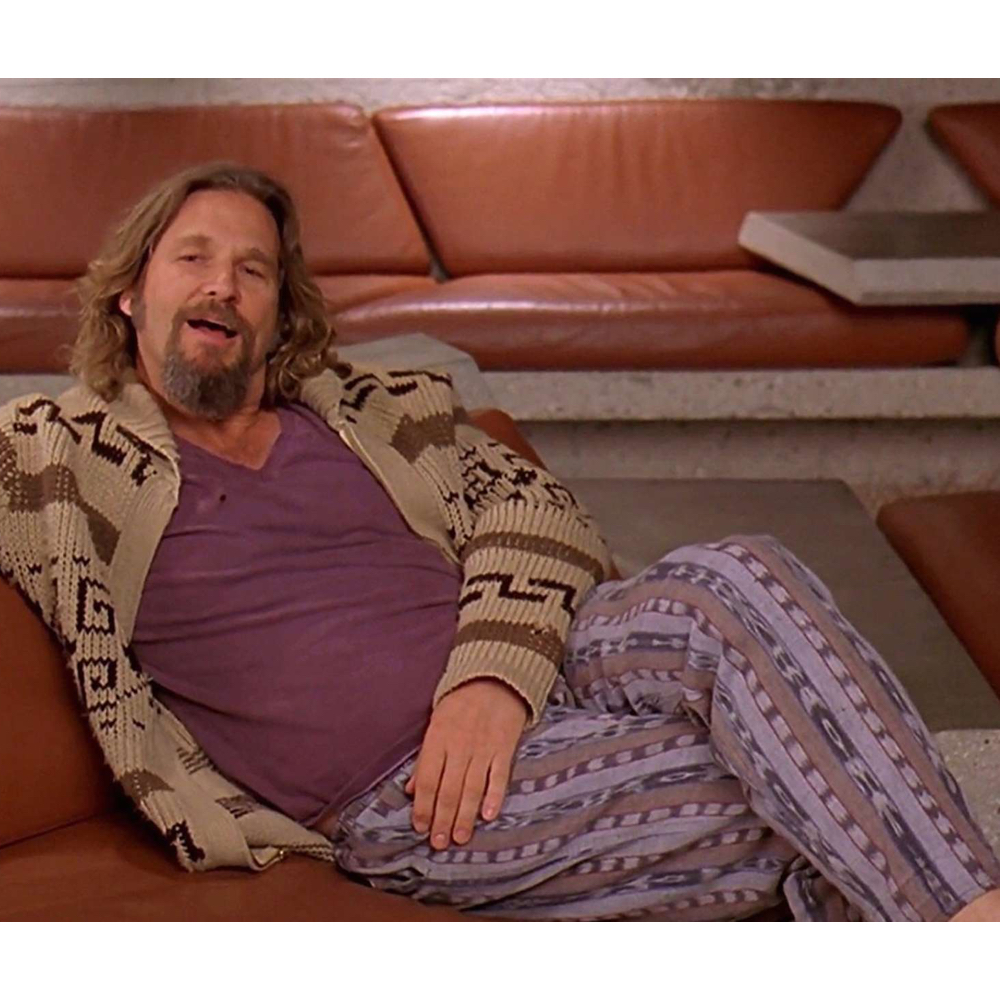 The Dude Costume - The Big Lebowski - Jeffery Lebowski Costume - The Dude Pants