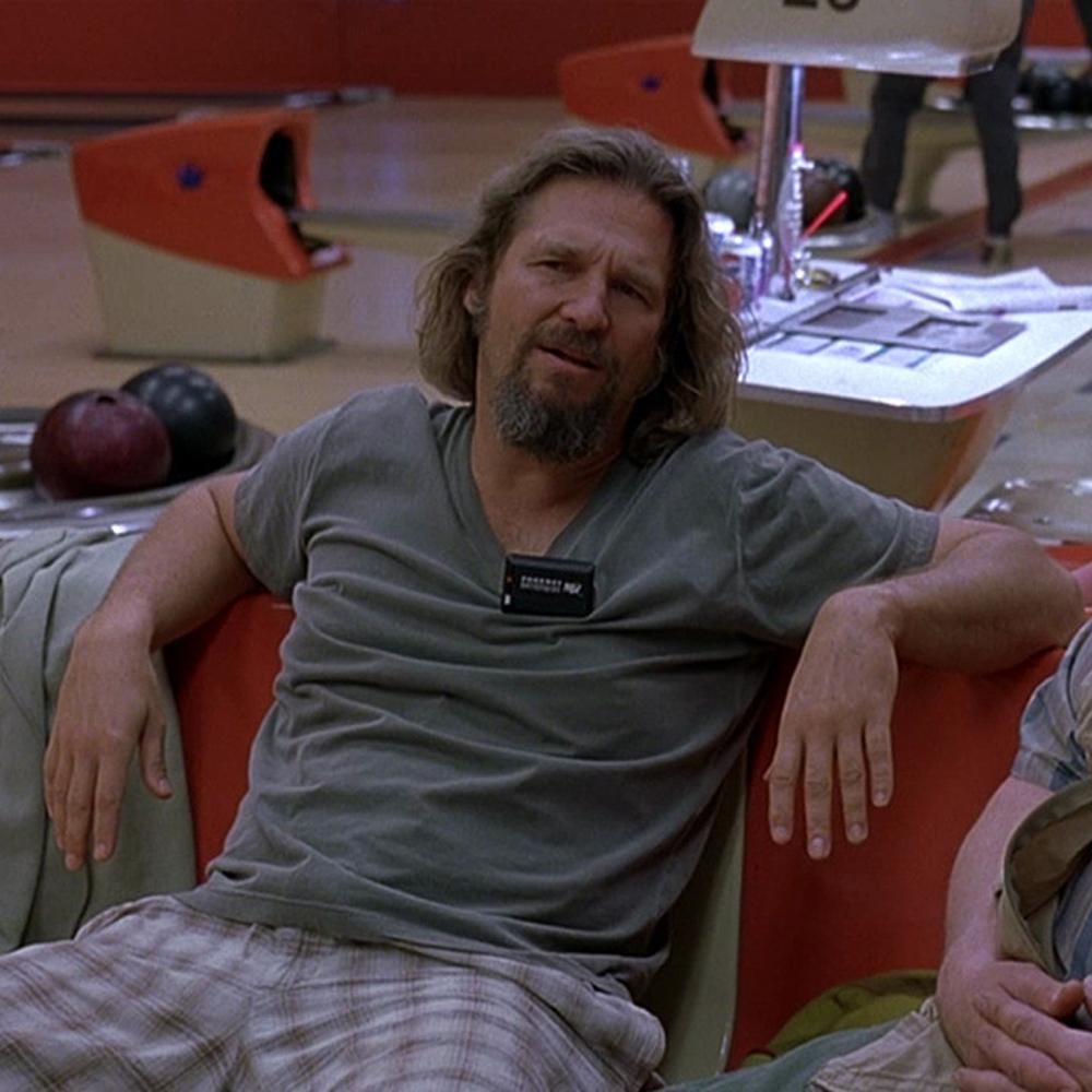 The Dude Costume - The Big Lebowski - Jeffery Lebowski Costume - The Dude T-Shirt
