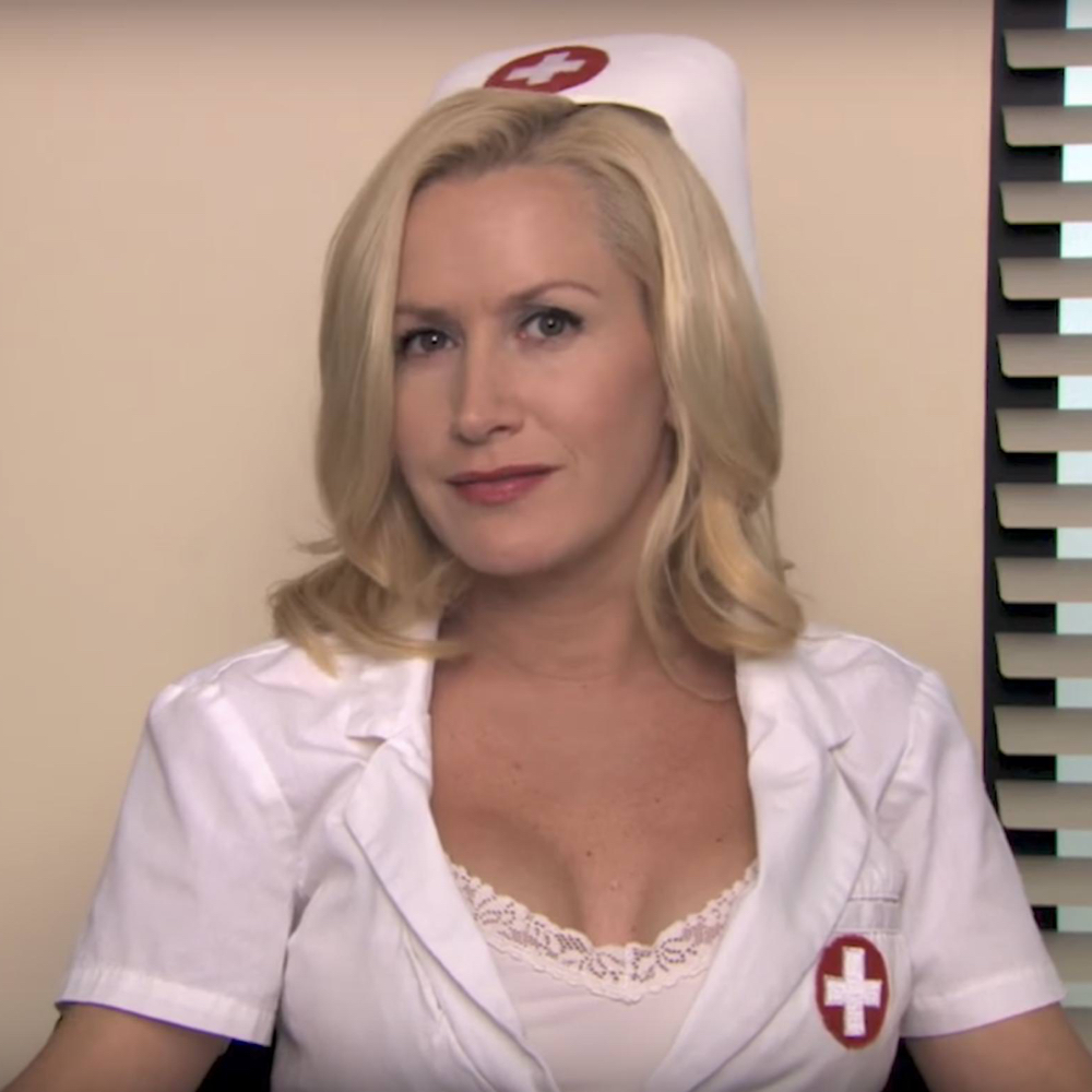 Angela Martin Costume - The Office - Angela Martin Nurse - Angela Martin Bra