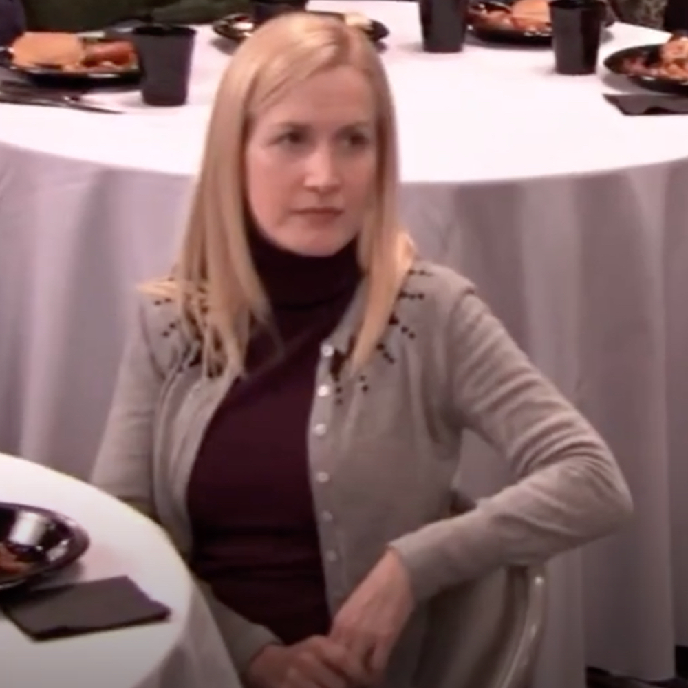 Angela Martin Costume - The Office - Angela Martin Cardigan