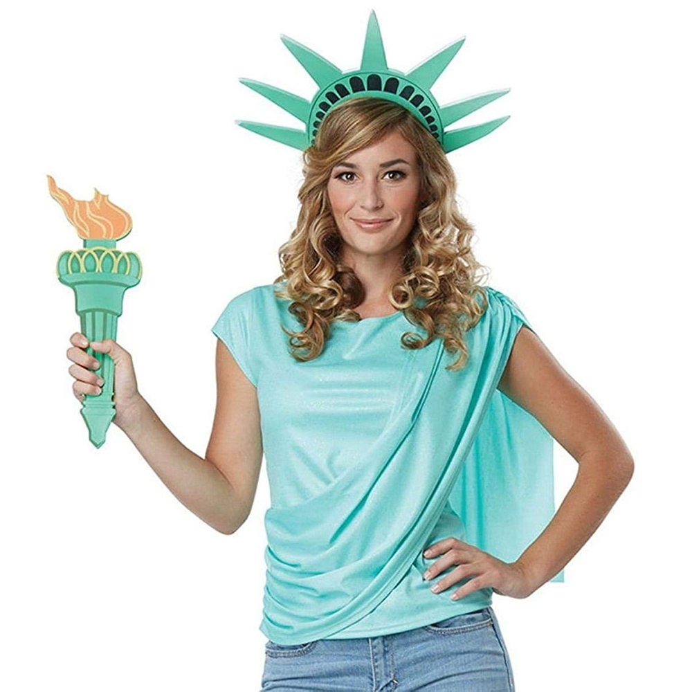 The Purge Election Year Costume - The Purge Cosplay - Lady Liberty Crown
