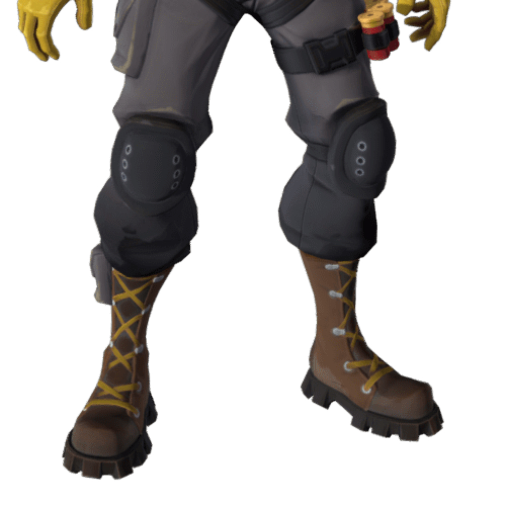 Raptor Fortnite Costume - Fortnite - Raptor Fortnite Boots