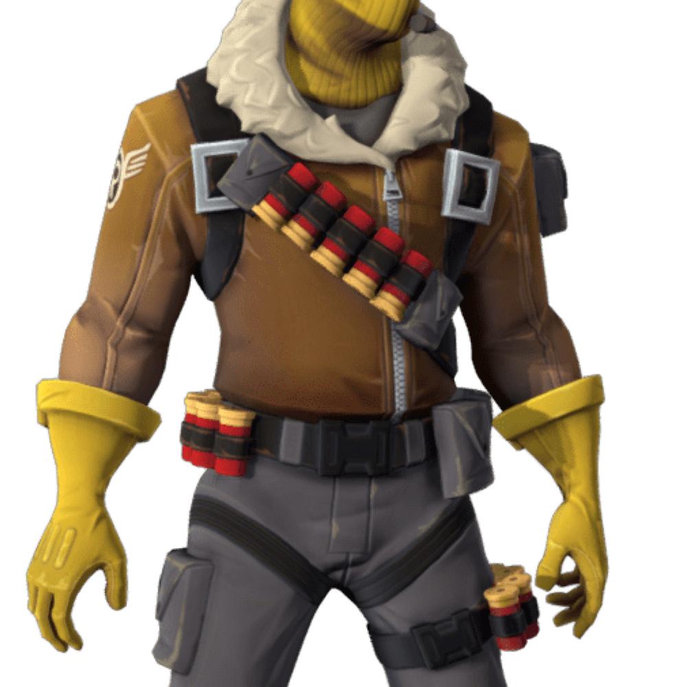 Raptor Fortnite Costume - Fortnite - Raptor Fortnite Bullet Strap