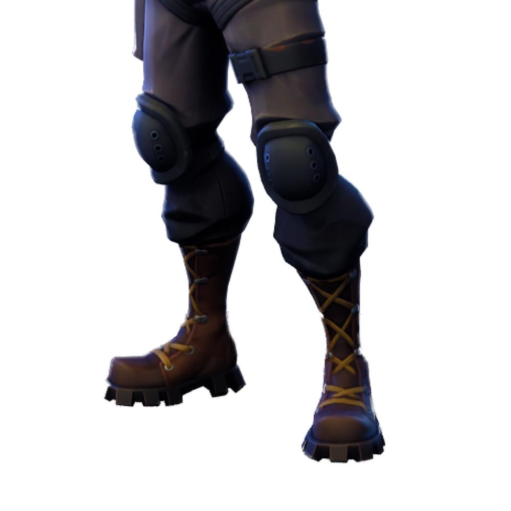 Raptor Fortnite Costume - Fortnite - Raptor Fortnite Knee Pads