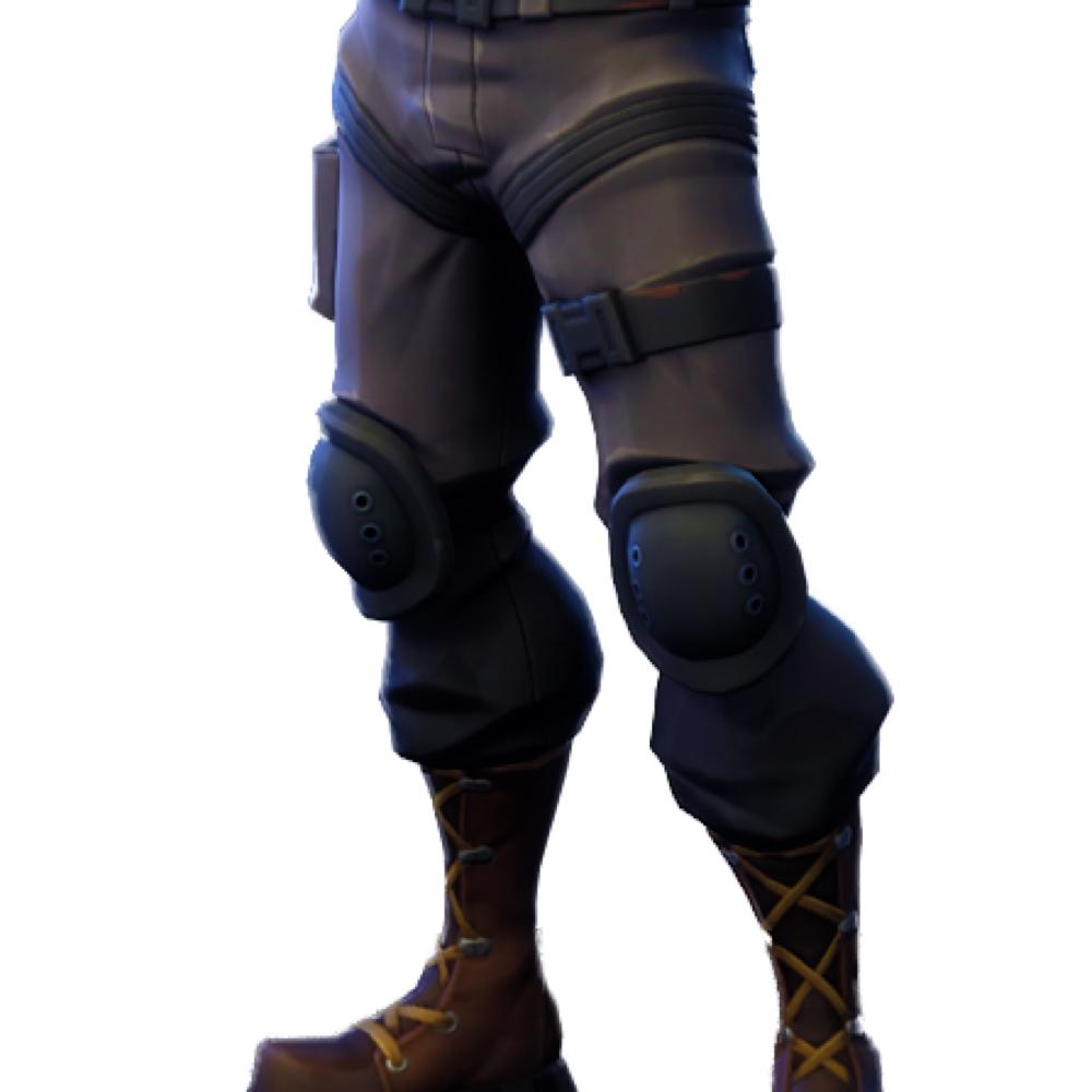 Raptor Fortnite Costume - Fortnite - Raptor Fortnite Leg Straps