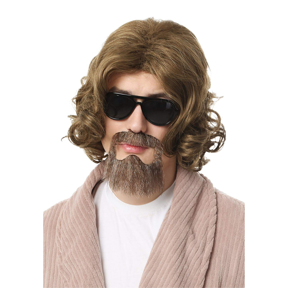 The Dude Costume - The Big Lebowski - Jeffery Lebowski Costume - The Dude Beard