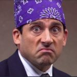 Prison Mike Costume - The Office Michael Scott Costume - Prison Mike Cosplay