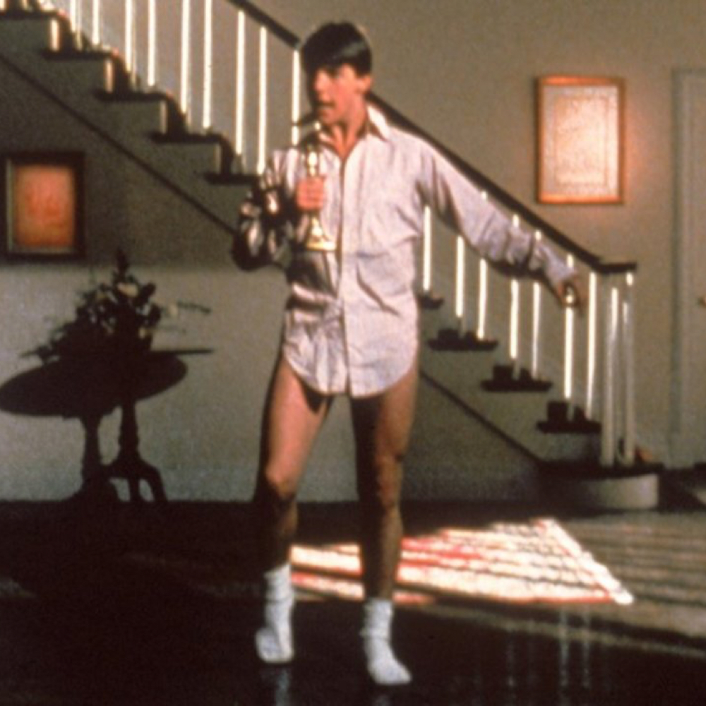 Risky Business Costume - Tom Cruise - Joel - Risky Business Candlestick