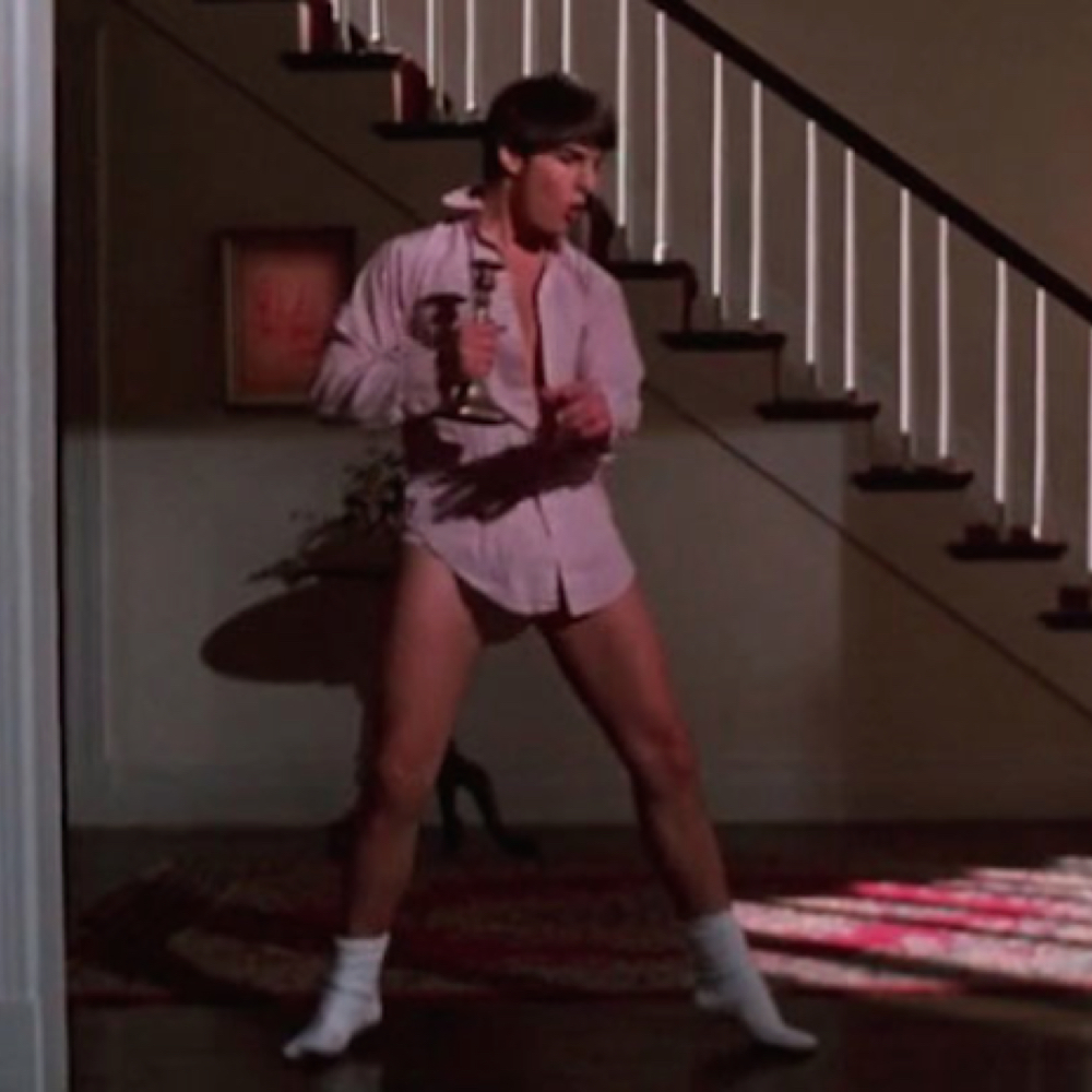 Risky Business Costume - Tom Cruise - Joel - Risky Business Socks