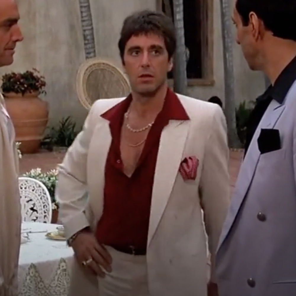 Tony Montana Costume - Scarface Costume Tony Montana Shirt