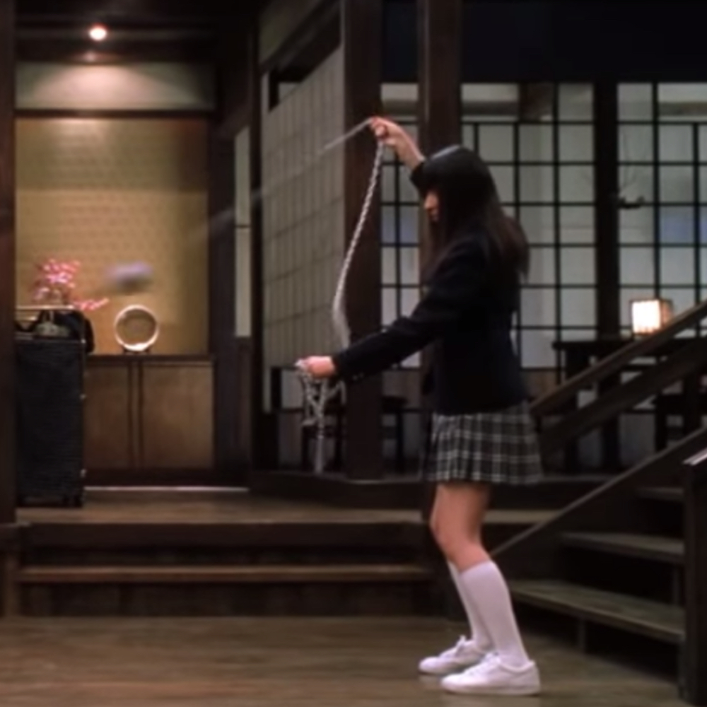 Gogo Yubari Costume - Kill Bill Cosplay - Gogo Yubari Socks