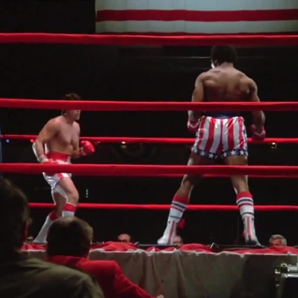 Apollo Creed Costume - Rocky - Apollo Creed Boots
