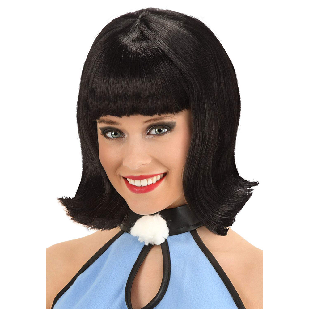 Betty Rubble Costume - The Flintstones - Betty Rubble Hair Wig