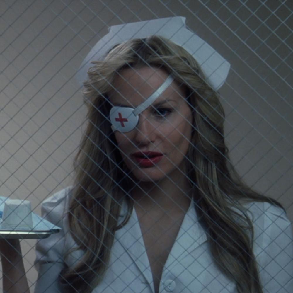 Elle Driver Costume - Kill Bill - Elle Driver Nurse Outfit - Elle Driver Eyepatch Nurse