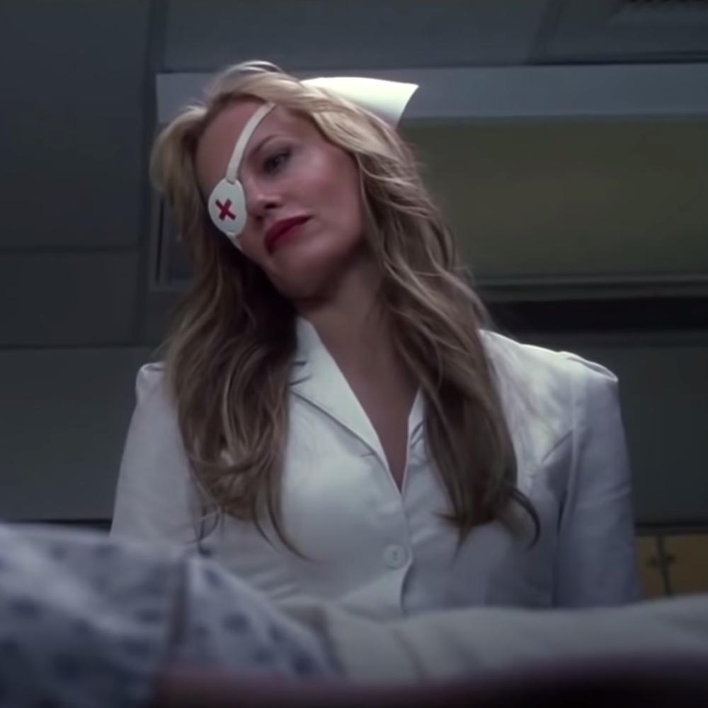 Elle Driver Costume - Kill Bill - Elle Driver Nurse Outfit - Elle Driver Wig - Elle Driver Hair