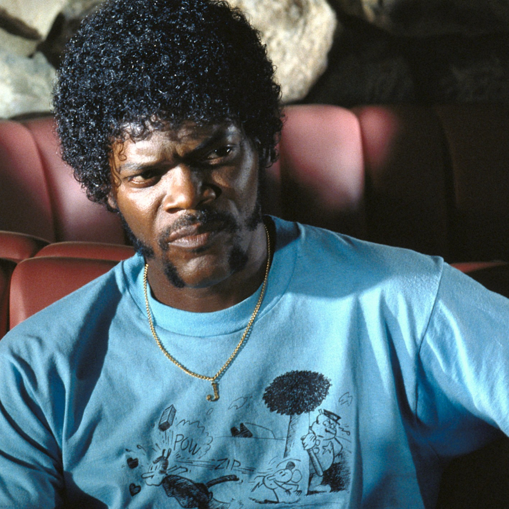 Jules Winnfield Costume - Pulp Fiction - Jules Winnfield T-Shirt