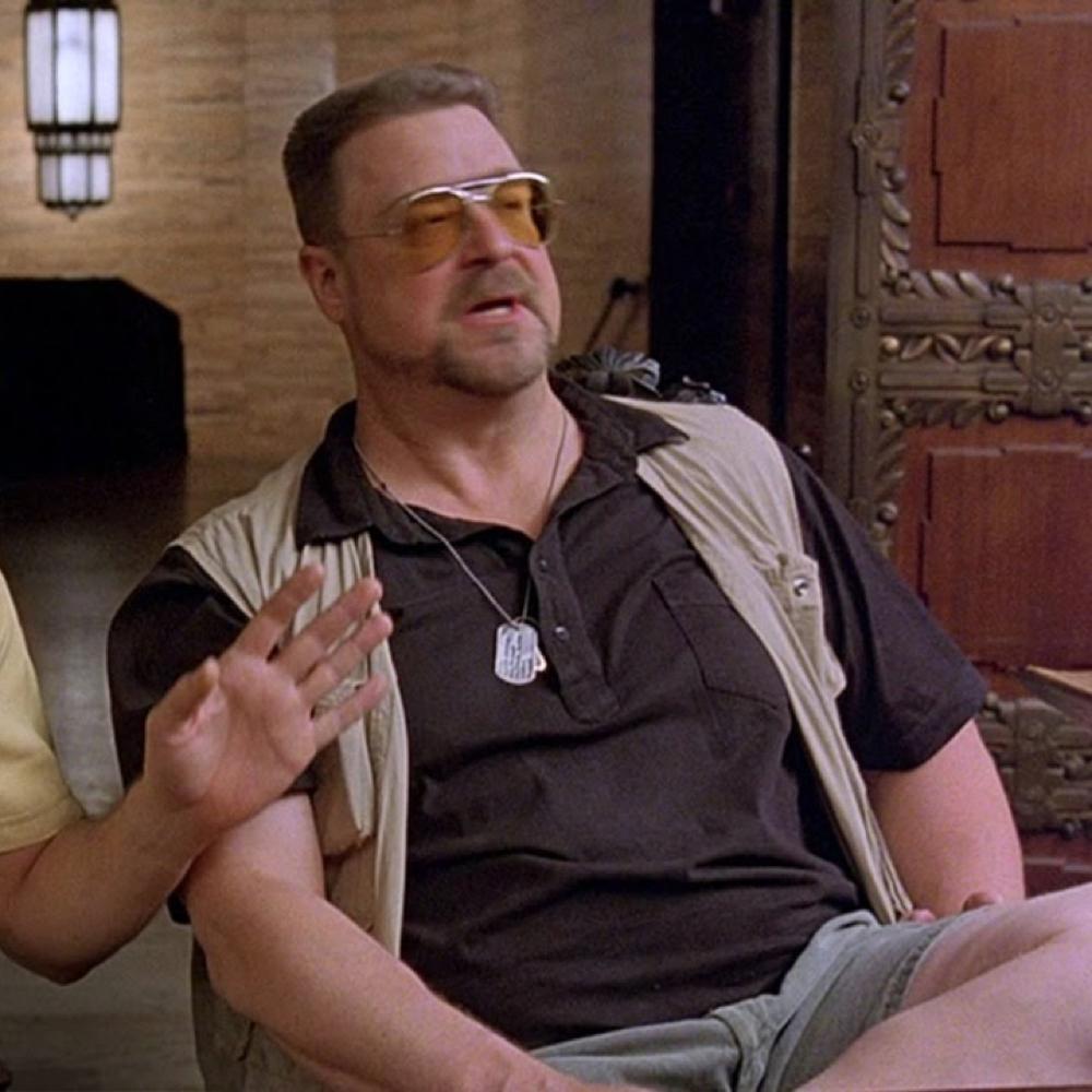 Walter Sobchak Costume - The Big Lebowski - Walter Sobchak Dog Tags