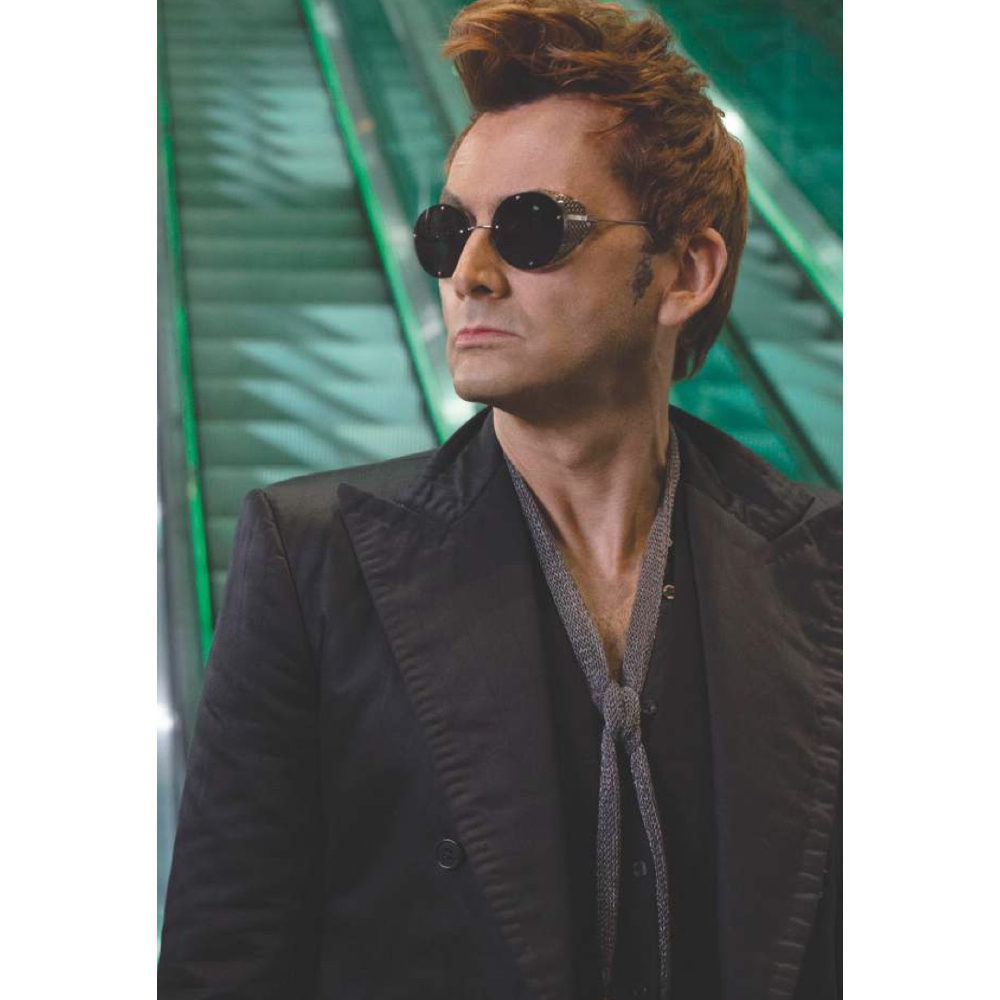 Crowley Costume - Good Omens - Crowley T-Shirt