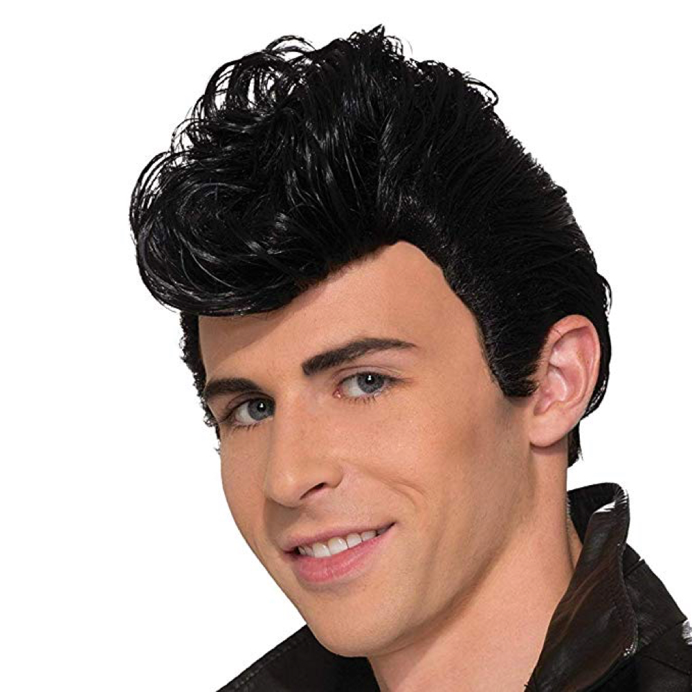 Danny Zuko Costume - Grease Fancy Dress - Danny Zuko Hair Wig