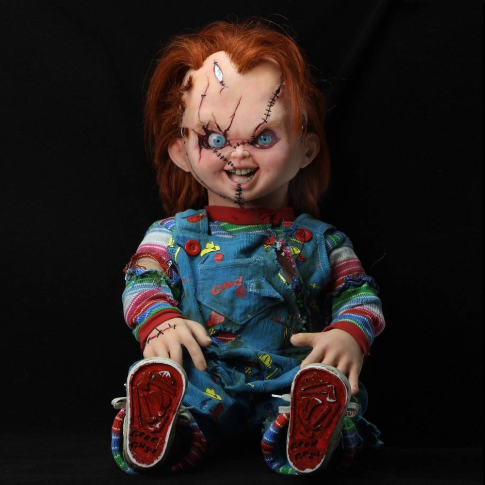 Chucky Costume - Child's Play Fancy Dress - Chucky Shoes