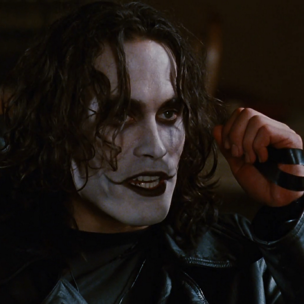 Eric Draven Costume - The Crow Costume - The Crow Fancy Dress - Eric Draven White Face Paint