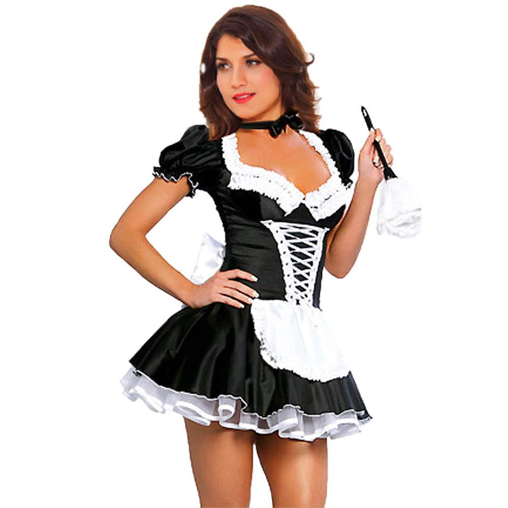 Sexy French Maid Costume - French Maid Fancy Dress