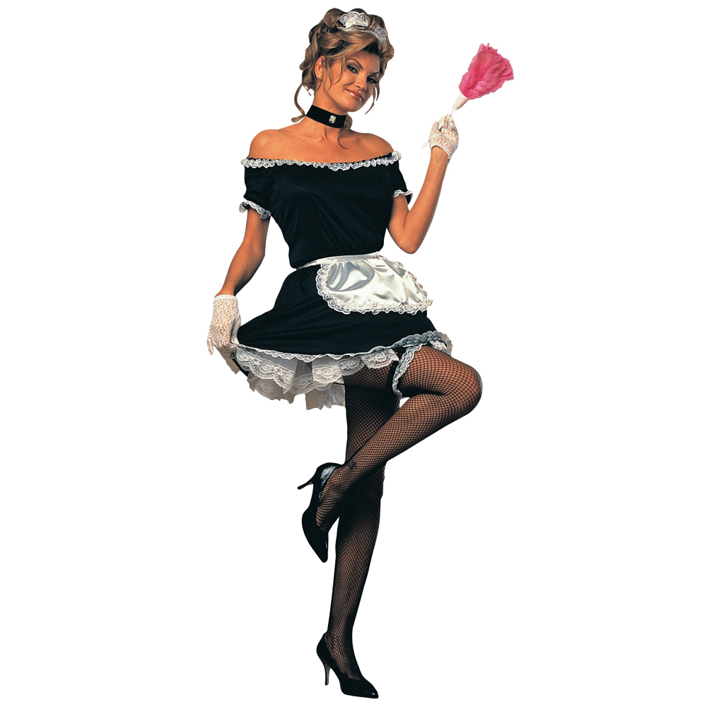 Sexy French Maid Costume - French Maid High Heels