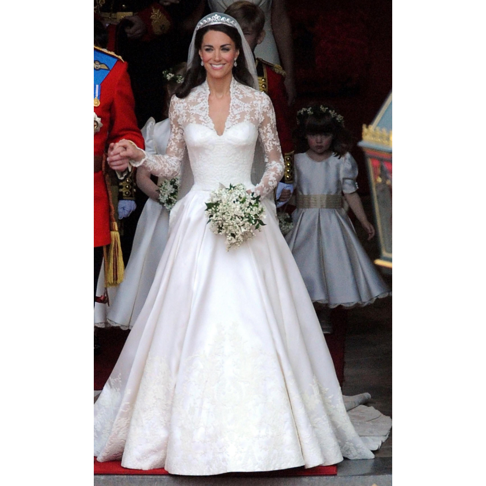 Kate Middleton Bride Costume - Kate Middleton Fancy Dress - Kate Middleton Wedding Dress