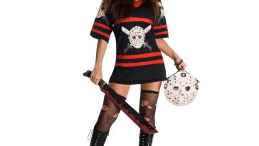Sexy Jason Voorhees Costume - Miss Voorhees Costume - Friday the 13th - Sexy Jason Vorhees Fancy Dress