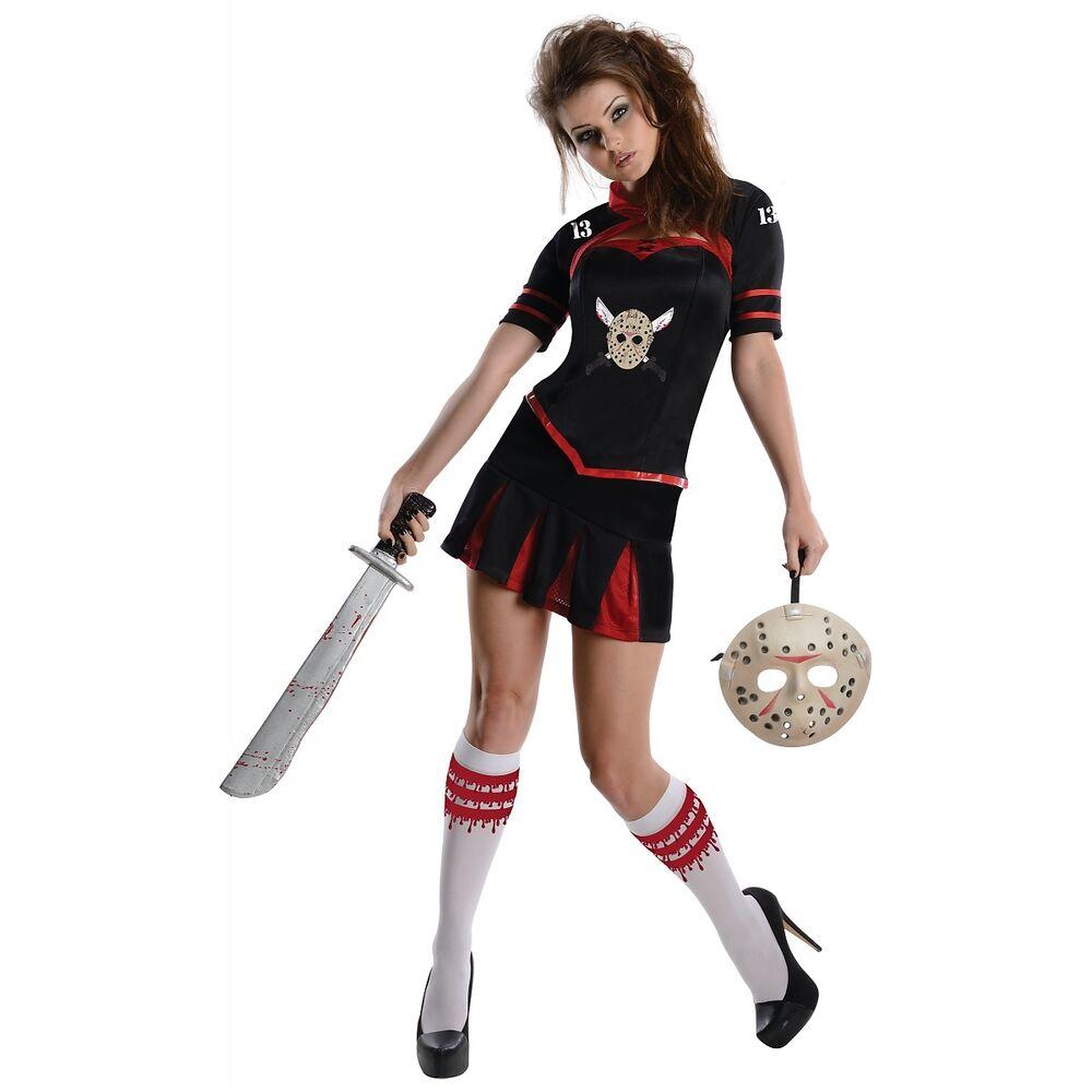Sexy Jason Voorhees Costume - Miss Voorhees Costume - Friday the 13th - Sexy Jason Vorhees Machete