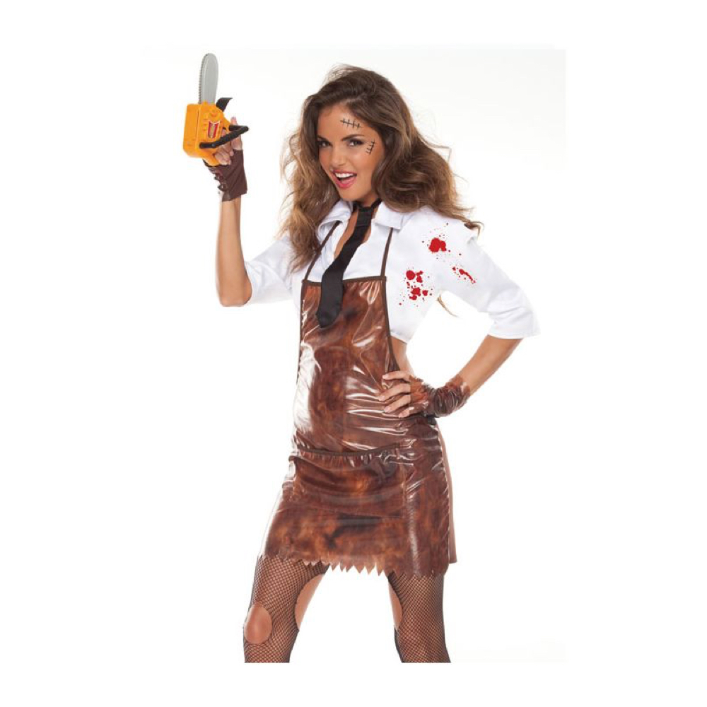Sexy Leatherface Costume - The Texas Chainsaw Massacre - Sexy Leatherface Apron