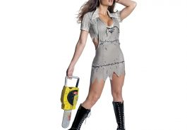 Sexy Leatherface Costume - The Texas Chainsaw Massacre - Sexy Leatherface Fancy Dress Cosplay