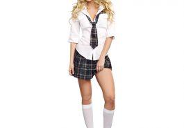 Sexy Schoolgirl Costume - Sexy Schoolgirl Fancy Dress