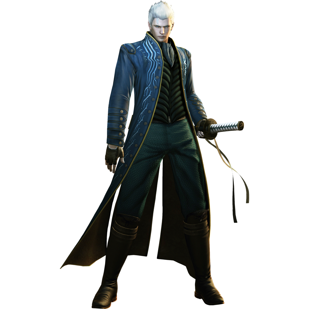 Vergil Costume - Devil May Cry 5 Fancy Dress - Vergil Boots