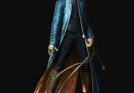 Vergil Costume - Devil May Cry 5 Fancy Dress - Vergil Cosplay