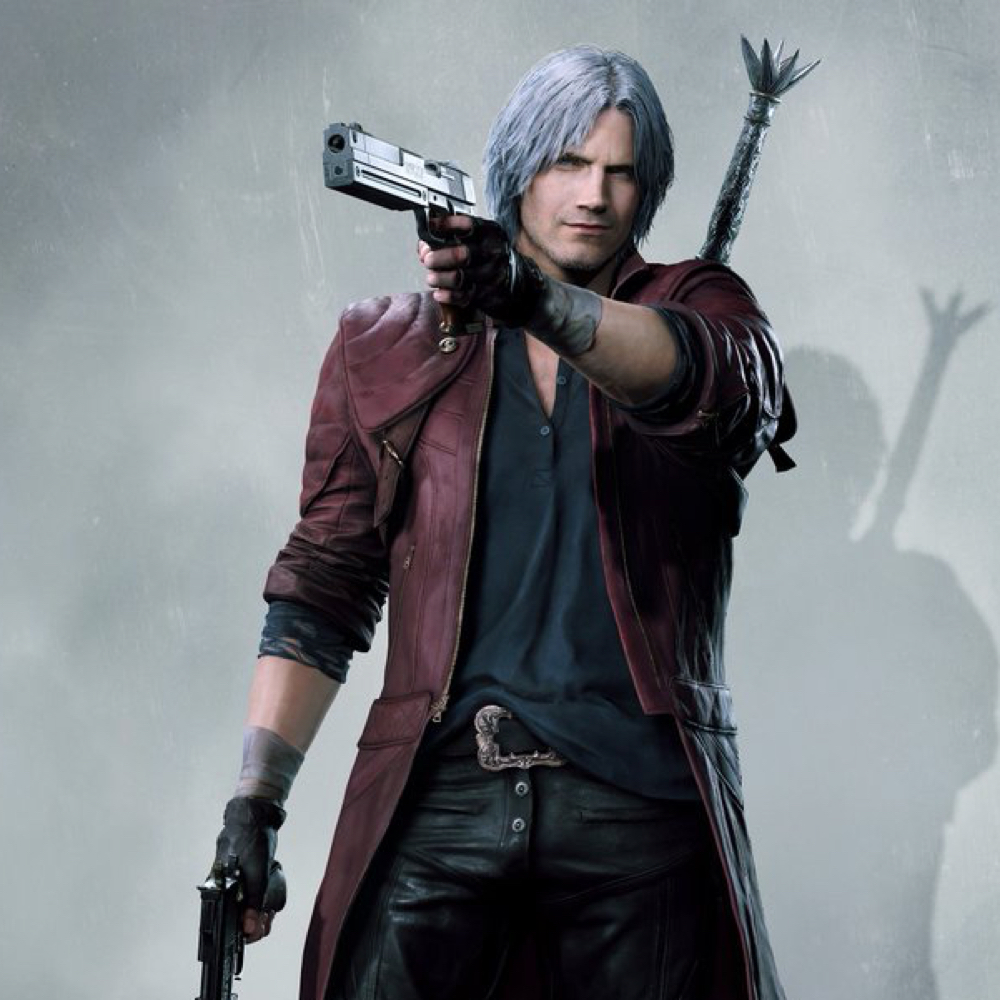 Dante Costume - Devil May Cry 5 Fancy Dress - Dante Gloves